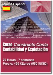 CURSO Constructo Conta, Contabilidad y Explotación Empresas de Construcción