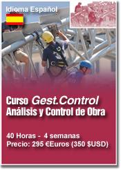 CURSO Gest.Control G2, Análisis y Control de Obra