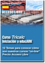 Curso TRICALC Iniciación - Acceso libre - (EI)